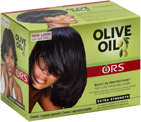 ORS Olive Oil No-Lye Relaxer Kit, Extra Strength 1 ea