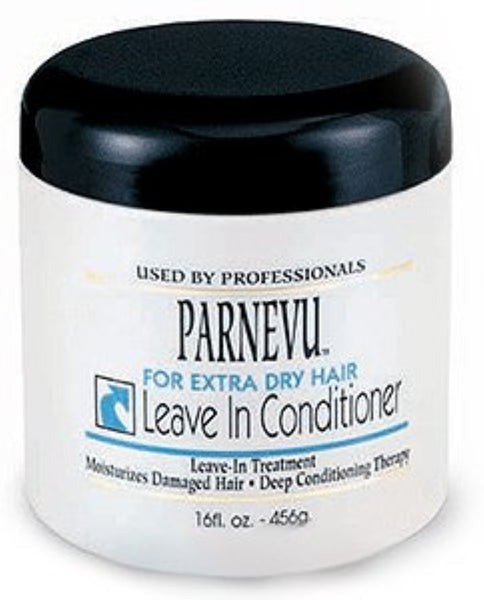 Parnevu Leave-In Conditioner For Extra Dry Hair, 16 oz (Pack of 4)