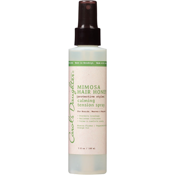 Carol's Daughter Protective Styles Calming Tension Spray, Mimosa Hair Honey, 5 Fl Oz