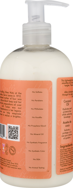 SheaMoisture Coconut & Hibiscus Curl & Shine Conditioner, 13 fl oz