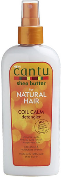 2 Pack - Cantu Shea Butter for Natural Hair Coil Calm Detangler, 8 oz