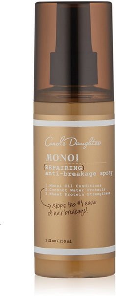 Carol's Daughter Monoi Repairing Anti-Breakage Hair Spray for Unisex, 5 Ounce