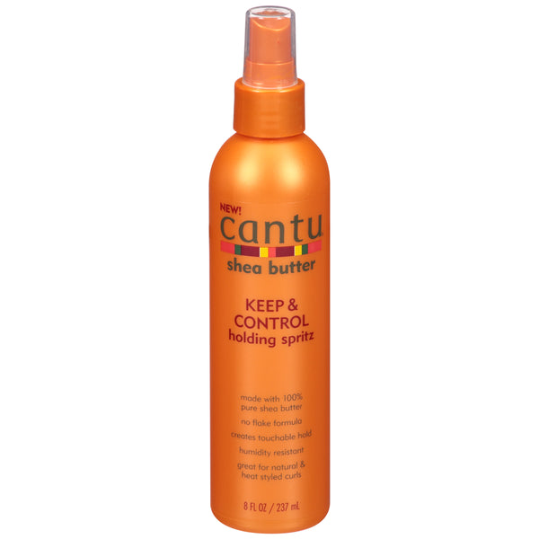 Cantu Shea Butter Keep & Control Holding Spritz 8 fl. oz. Bottle