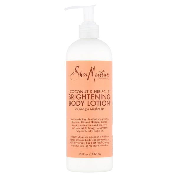 Shea Moisture Coconut & Hibiscus with Songyi Mushroom Brightening Body Lotion, 16 fl oz