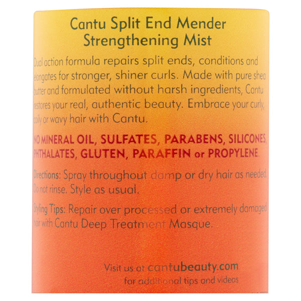 Cantu Split End Mender Strengthening Mist, 8 fl oz.