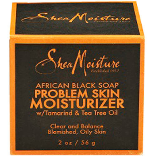SheaMoisture African Black Soap Problem Skin Moisturizer, 2 oz