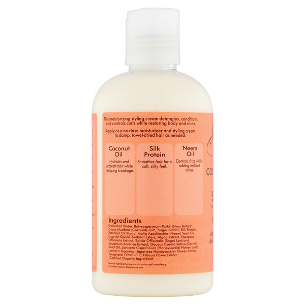 SheaMoisture Coconut & Hibiscus Curl & Style Milk, 8 fl oz
