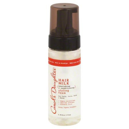 Carol's Daughter Hair Milk Styling Foam 5.85 FL OZ