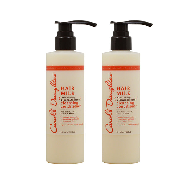 "Carol's Daughter Hair Milk Cleansing Conditioner, 12 Oz ""Pack of 2"""