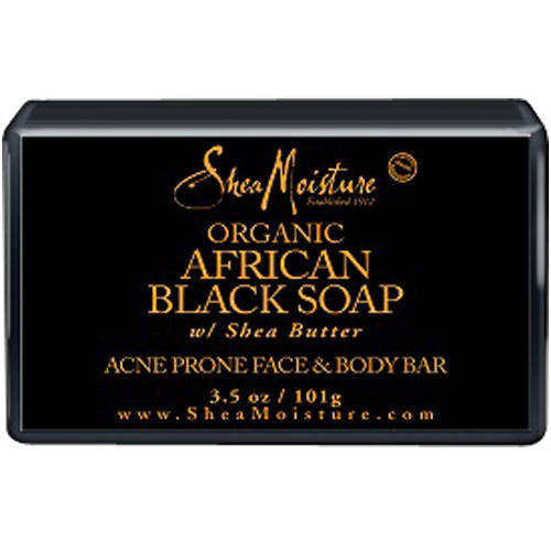 SheaMoisture Organic African Black Soap, 3.5 oz