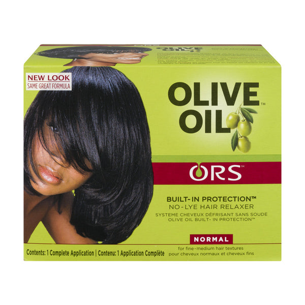 ORS™ Olive Oil Built-In Protection No-Lye Hair Relaxer™  Normal Strength