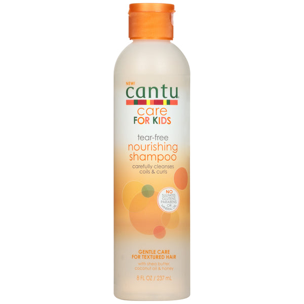 Cantu Care for Kids Tear-Free Nourishing Shampoo, 8 fl. oz. Bottle