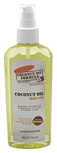 2 Pack Palmer's Coconut Oil Formula with Vitamin E Coconut Body Oil 5.1 Oz Each