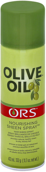 2 Pack - ORS Olive Oil Nourishing Sheen Spray 11.70 oz