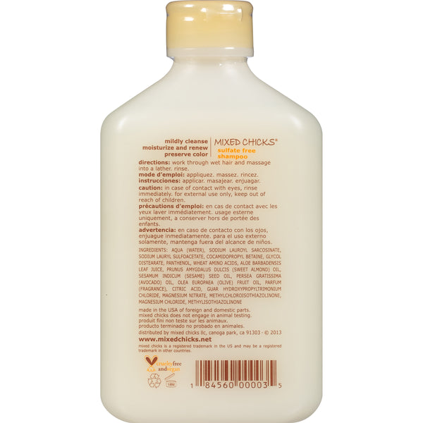 Mixed Chicks® Sulfate Free Shampoo 10 fl. oz. Squeeze Bottle