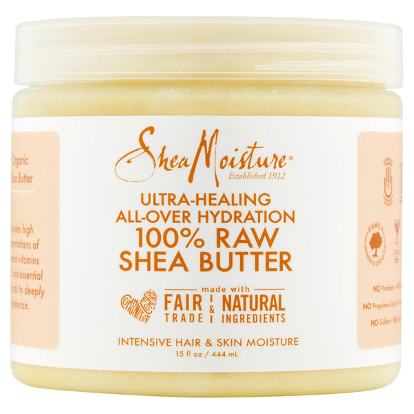 SheaMoisture 100% Raw Shea Butter, 15 oz