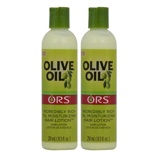 Organic Root Stimulator ORS  8.5 oz. Olive Oil Enriched Moisturizing Hair Lotion (Pack of 2)