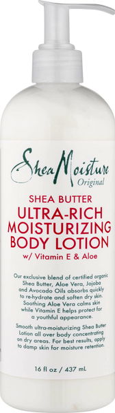 Shea Moisture Original Shea Butter Ultra-Rich Moisturizing Body Lotion, 16 fl oz