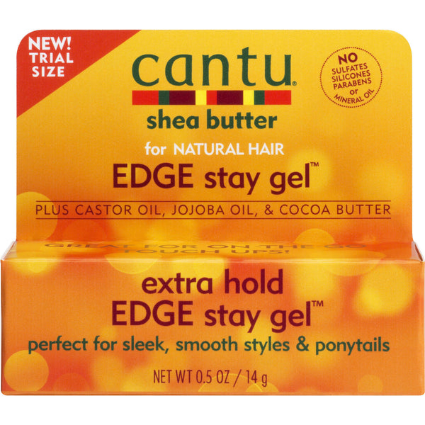 Cantu Shea Butter Extra Hold Edge Stay Gel, 0.5 oz