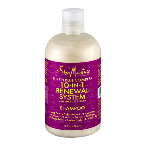Shea Moisture Superfruit Complex 10-In-1 Renewal System Shampoo, 13.0 FL OZ