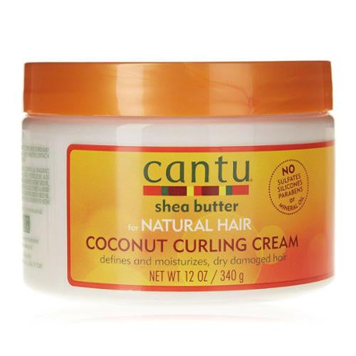 Cantu Coconut Curling Cream, 12 oz (Pack of 3)