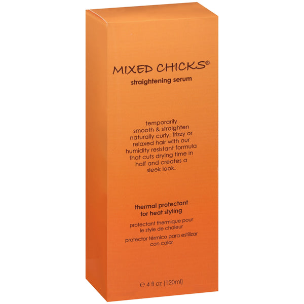 Mixed Chicks® Thermal Protectant for Heat Styling Straightening Serum 4 fl. oz. Box