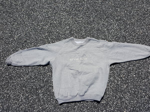Vtg Guess Jeans Co Gray Sweatshirt