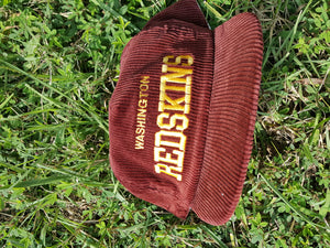 Washington Redskins Corduroy  AJD Snapback