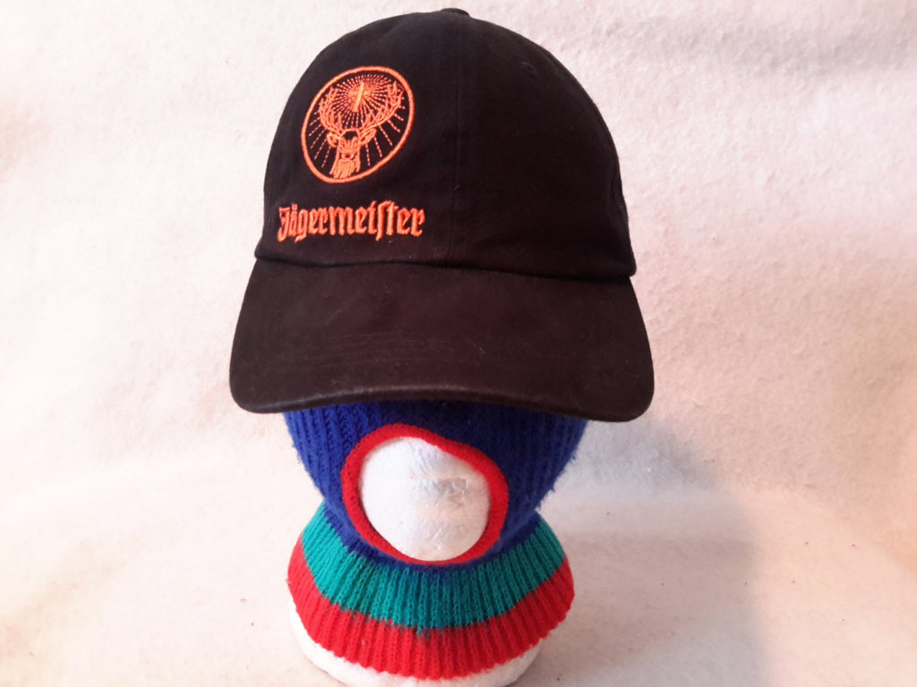 Vintage jagermeister Spell out liqour Strapback Dad hat  Retro German Dope Cap Alcohol Beer Party Official Merch