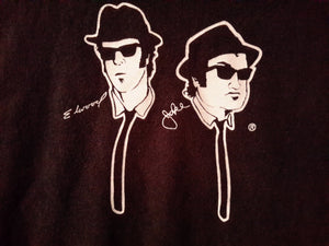 Vtg 1992 Blues Brothers Tee Shirt Sz XXL On a Mission From God Chicago Official Merch