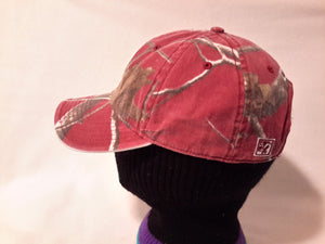 Vtg The Game Alabama Crimson Tide Camo Dad Hat cap Roll Tide Nick Saban