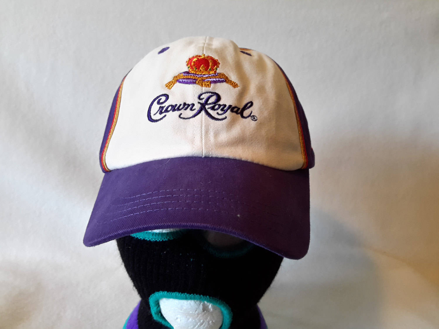 Vtg Crown Royal RacingDad hat cap beer Retro Alcohol liqour bourbon Cognac Henny
