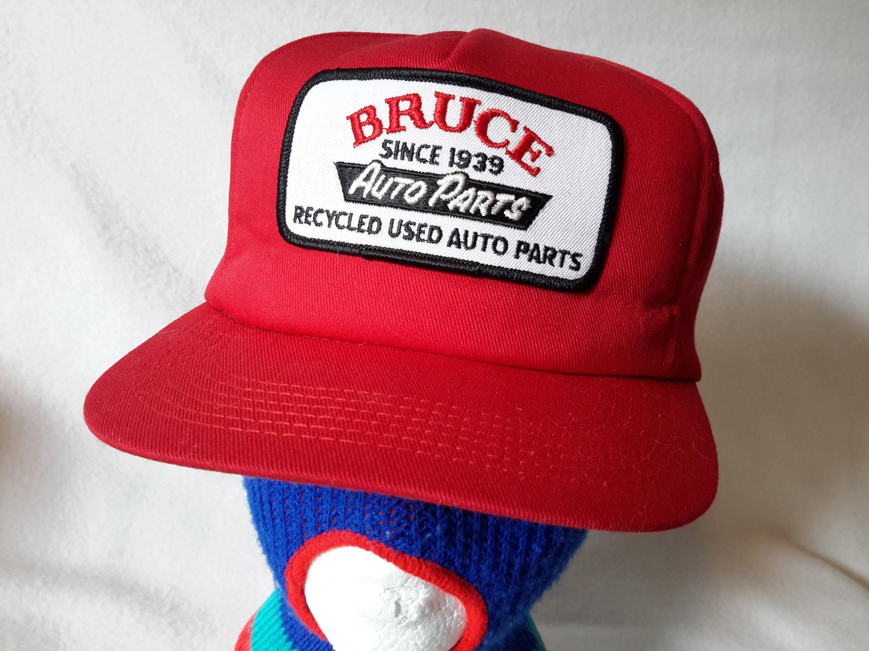 Bruce Auto Parts >> Vtg Bruce 39 S Auto Parts Recycled Made In Usa