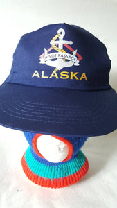 Vtg Alaska Middle Passage Snapback hat cap national geographic travel cruise