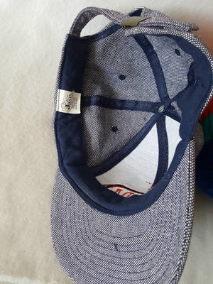 Vtg Bermuda Triangle Trippy dad hat summer beach