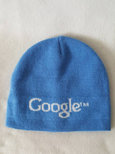 Vtg Google Skullie Beanie hat Winter cap Retro 90s Style toque knit  winter