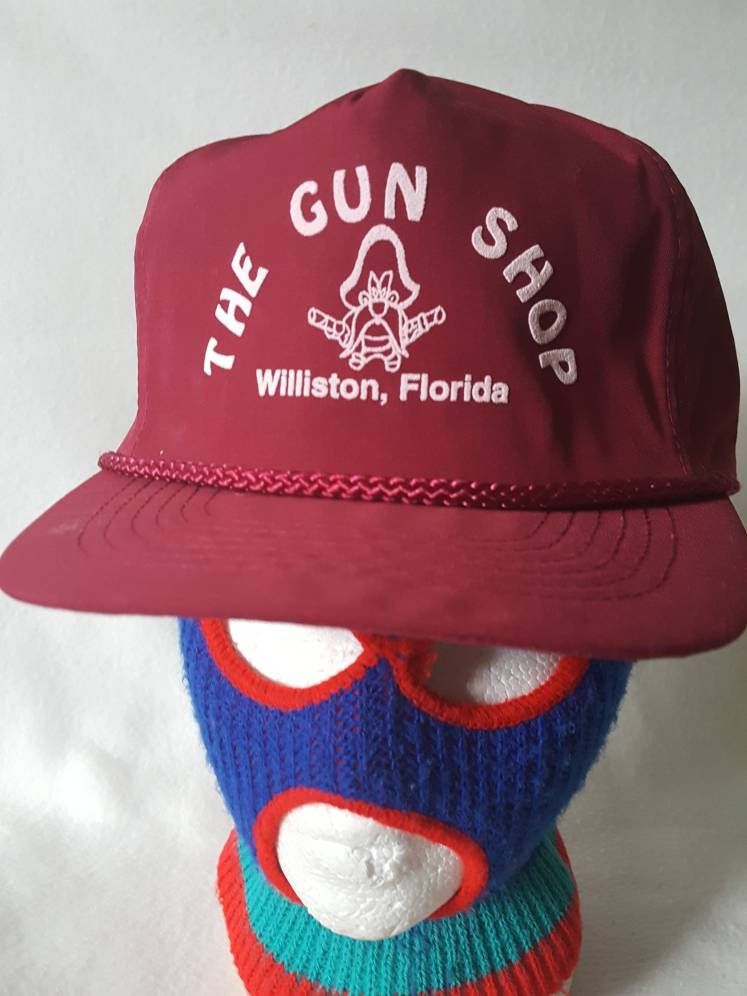 Vtg The Gun Shop Yosemite Sam snapback hat cap bootleg Looney tunes