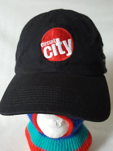 Vtg Circuit City  Dad Hat 90s Technology Computers Texas instruments
