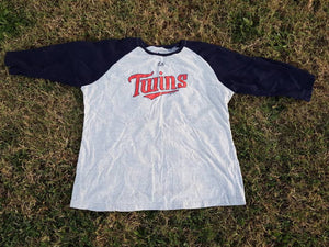 Minnesota Twins  Majestic baseball  Shirt MLB playoffs as xl