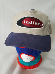 Vtg Cleveland Indians American Needle Dad hat 90s Chief Wahoo cap Retro  Dope MLB Kenny Lofton 2d6520043a9