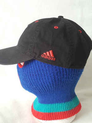 Vtg  Adidas DC United Strapback dad hat golf cap Curved brim Yeezy Ultra Boost NMD Freddy Adu DMV