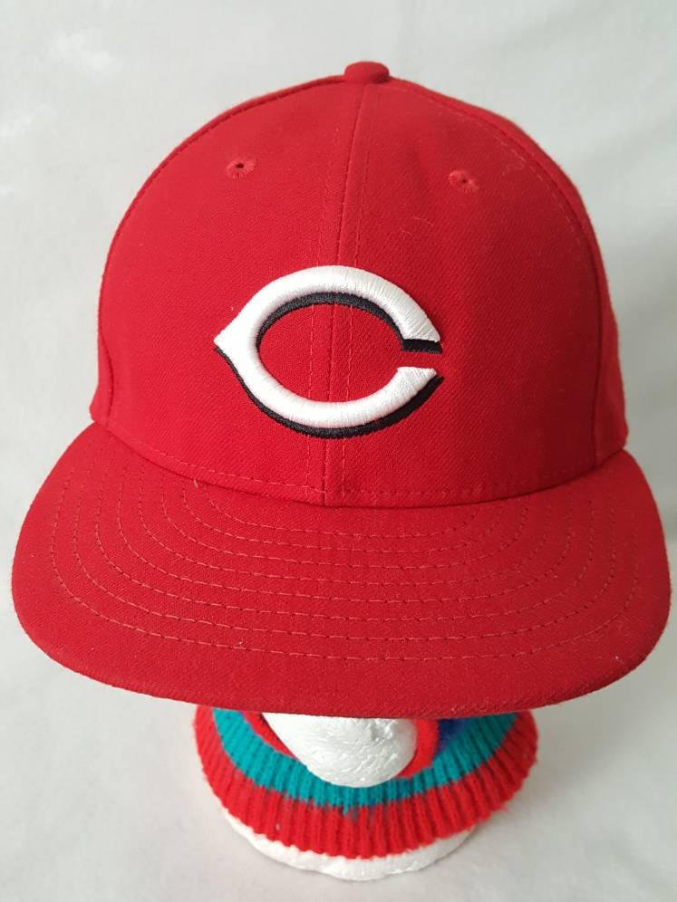 Vtg Cincinnati Reds  Fitted 7 1/2 New Era summer sale