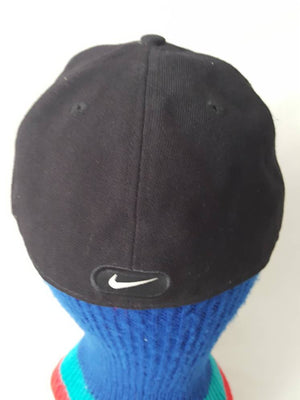 Vtg NIKE SWOOSH  7 3/8 classic pro Fitted Cap jordan Just Do it air max court trainer tn le 90s