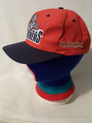 0c1bf7afe Vintage Florida Panthers big logo 7 NHL Snapback hat cap Hockey Jagr ...