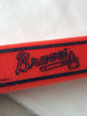 Vintage Atlanta Braves Officially License Foam Tomhawk Memorabilia sMoltz glavine