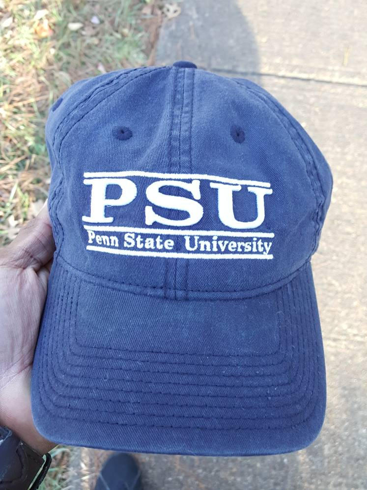 Vtg  Penn State The Game Navy Blue Dad hat strapback college football championship