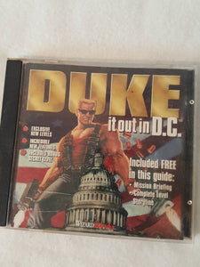Vthe Duke it out in DC duke nukem Pc game disc 90s