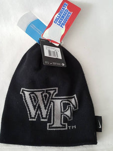 Vtg Wake Forest Nike Beanie nwt college sale back to school