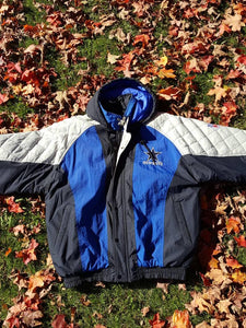 outlet store 20f2c 82bdd Vtg Dallas Cowboys Starter puffer jacket Size Large Ezekiel ...