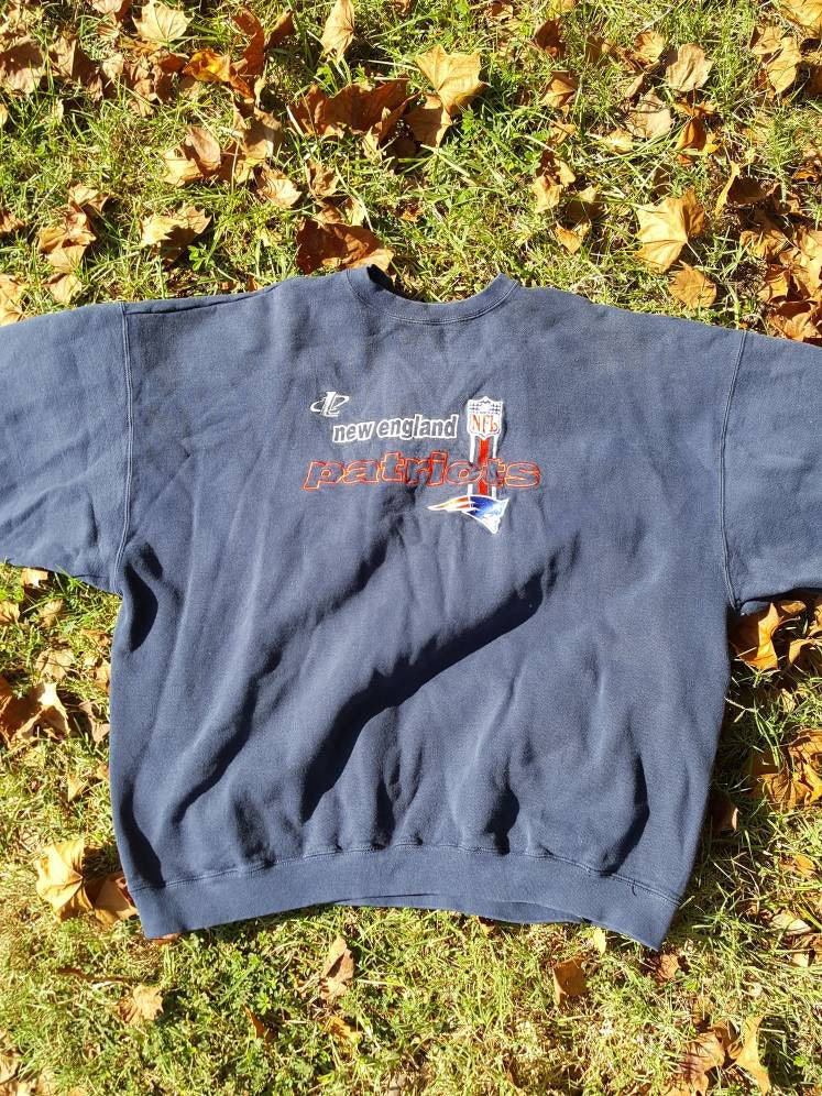 Vtg Logo Athletic Crewneck XXL Sweatshirt Retro Tom Brady Superbowl